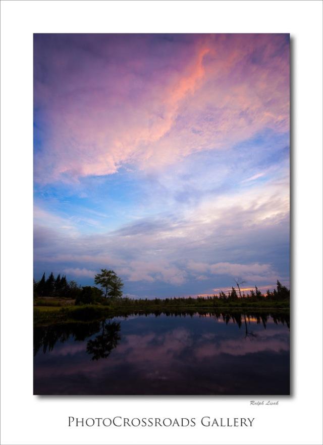 Sunset on Mississauga River Ontario